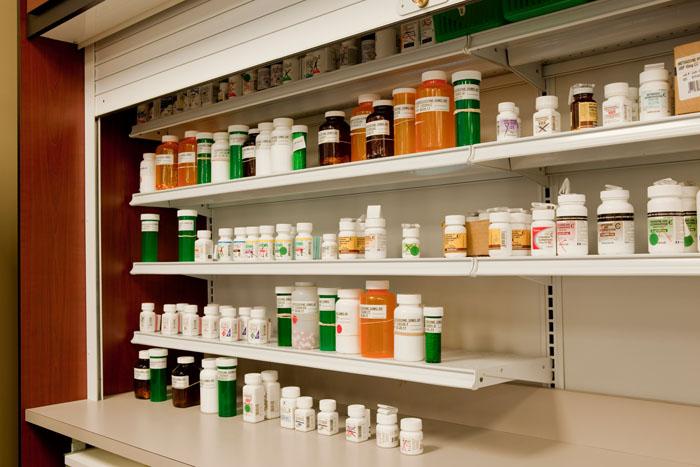 Drug Storage Wall Unit