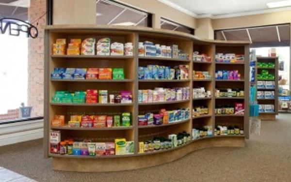 Modern Pharmacy Shelving