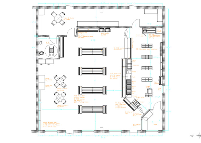 Pharmacy Design Floor Plans