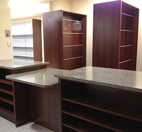 Hospital Retail Pharmacy Custom Shelving