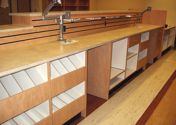 Pharmacy Undercounter Shelving Solutions