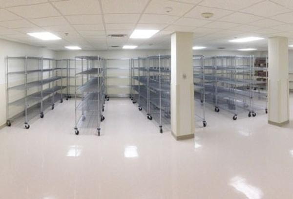 Closed Door Pharmacy Storage