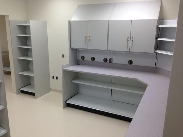 Closed Door Pharmacy Workspace