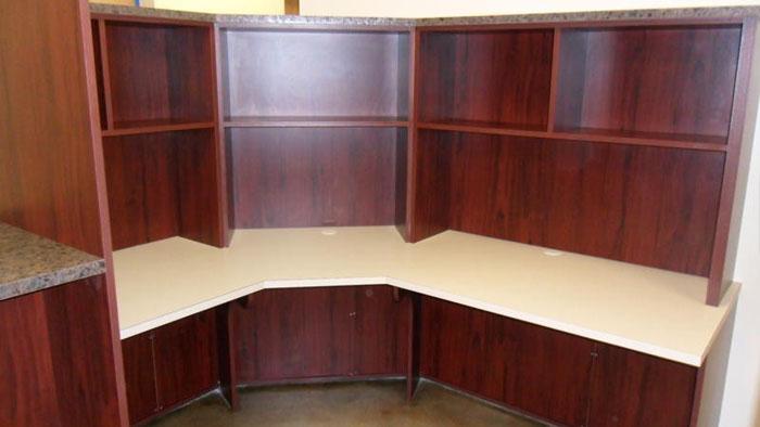 Custom Pharmacy Desk Unit