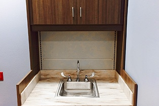 Custom ADA Sink Pharmacy