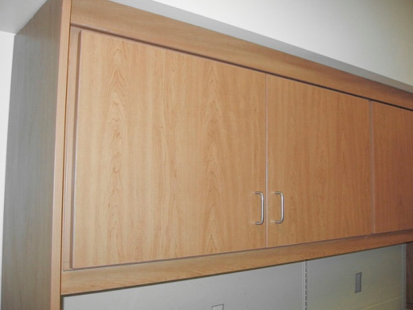 Custom Pharmacy Cabinets Under Soffet