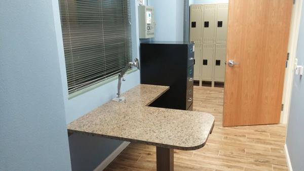 Custom Pharmacy Office Desk