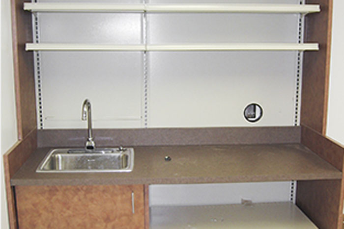 Sink Area Long Term Care Pharmacy