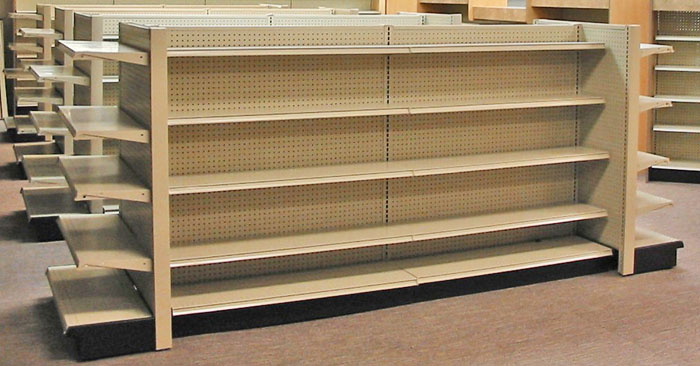 Metal Gondolas Pharmacy Shelving