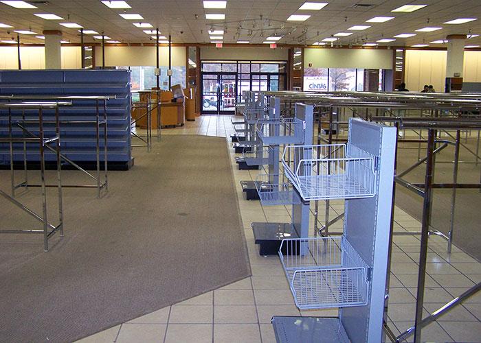 Metal Retail Fixtures