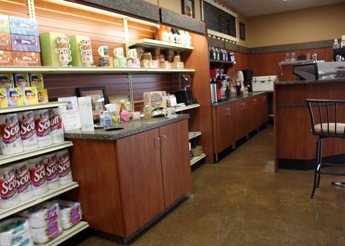 Slatwall Retail Shelving