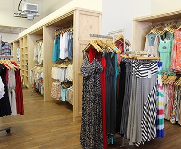 Retail Fixtures Clothing Store