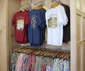 Custom Wood Retail Display
