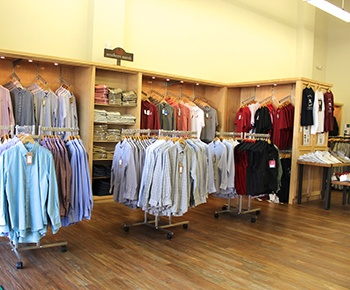 Custom Retail Shelving Wood
