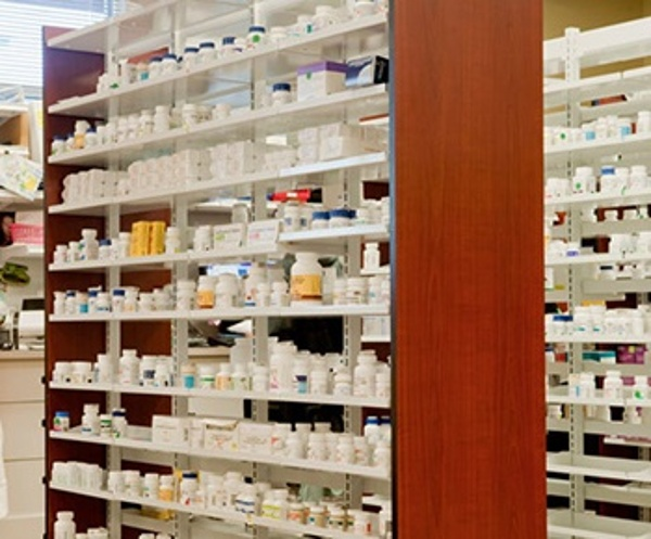 Prescription Shelving Pharmacy